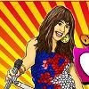 Hannah Montana Coloring game