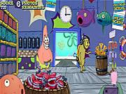 Sponge Bob Square Pants:Plankton`s Crusty Bottom Weekly Игра с любимыми героями из мультика Sponge Bob В этой игре  надо сделать 7 лучших фоток-нажмите пробел,  чтобы начать поиск с объективом и за 3 секунды щелкнуть мышкой, чтобы сделать фото